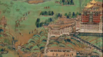 Lhasa's Urban Form Through Imagery and Art